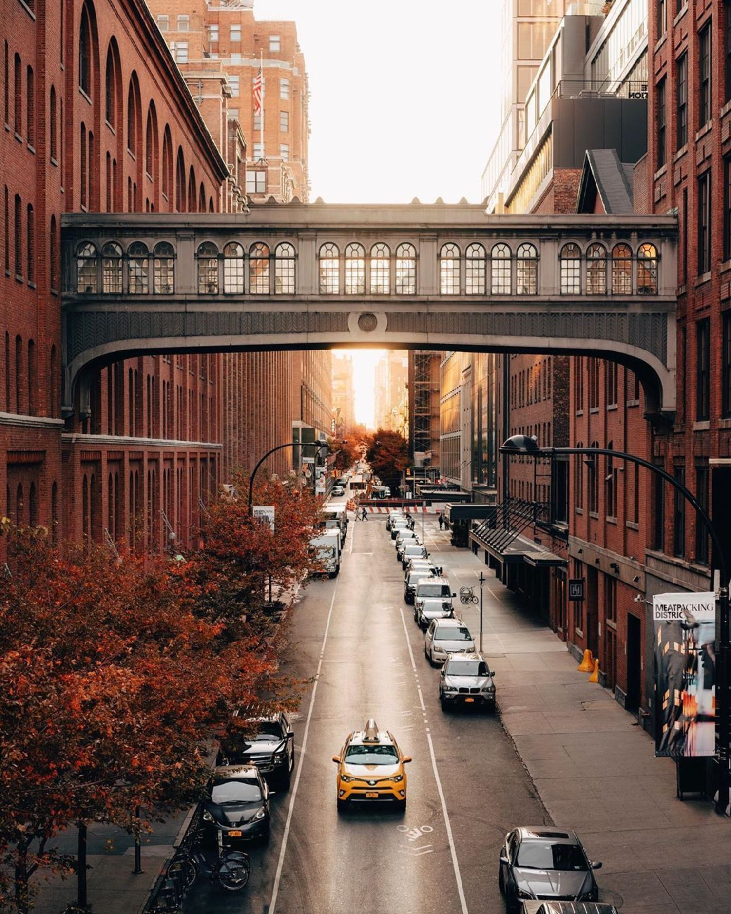 West 15th Street from The High Line, Chelsea, Manhattan