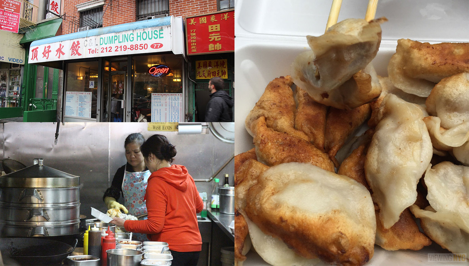"C & L Dumping House | Check out Viewing NYC for more info on the 2015 Chinatown Dumpling Crawl and to see who won!  <a href=""https://viewing.nyc/the-best-dumpling-in-the-2015-viewing-nyc-chinatown-dumpling-crawl-is/"" rel=""nofollow"">viewing.nyc/the-best-dumpling-in-the-2015-viewing-nyc-chi...</a>"