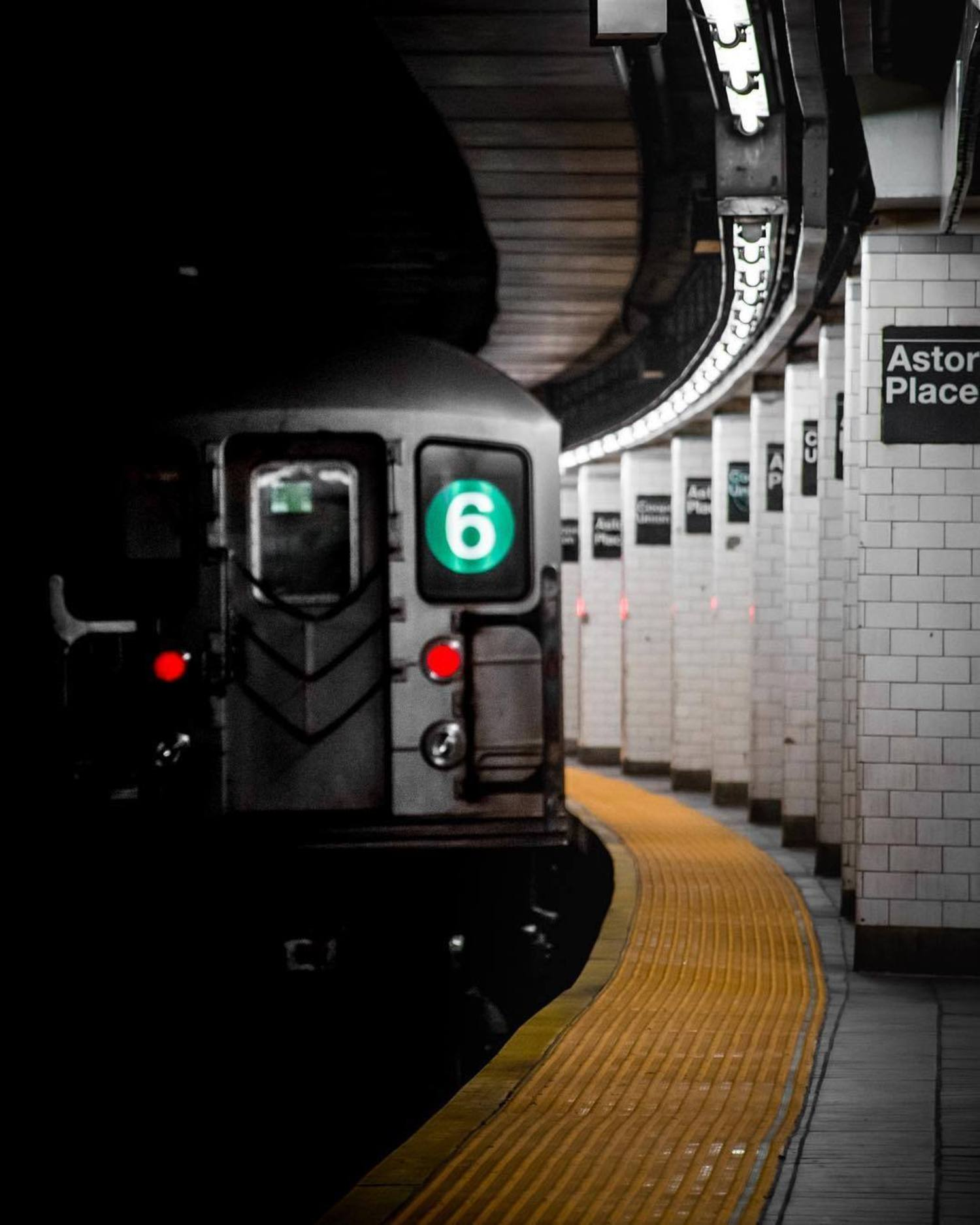 Astor Place Station, East Village, Manhattan