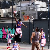 STOMP makes basketball music with Harlem Globetrotters