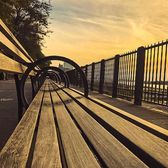 Benches on the Brooklyn Heights Promenade