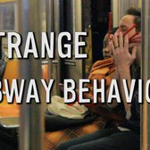 STRANGEST SUBWAY BEHAVIOR