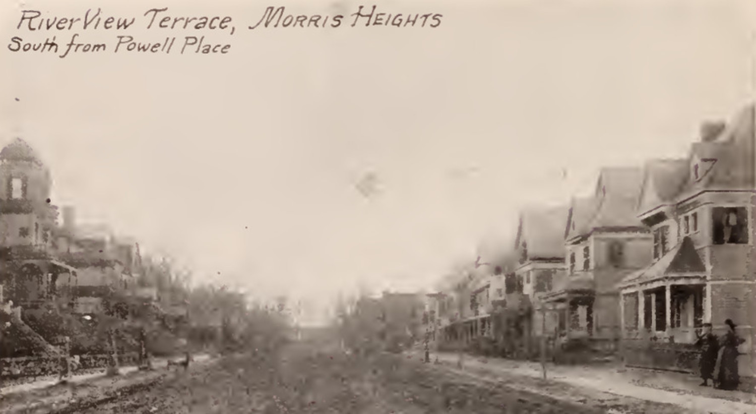 Riverview Terrace from Powell Place Morris Heights Bronx 1897