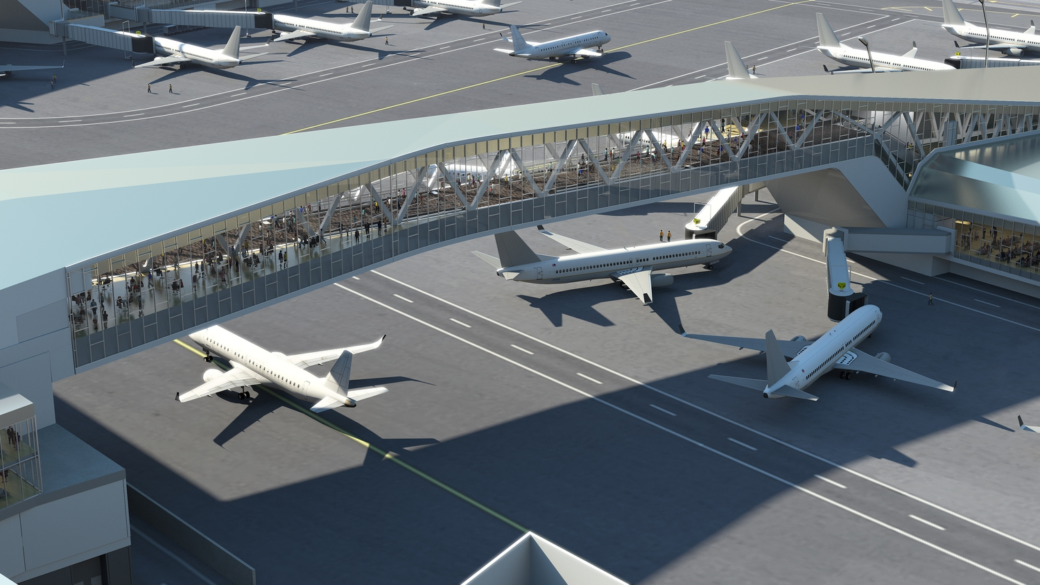 LaGuardia Renderings | Bridge Detail