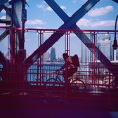 Williamsburg Bridge, New York, New York. Photo via @steve.gomes #viewingnyc #newyorkcity #newyork