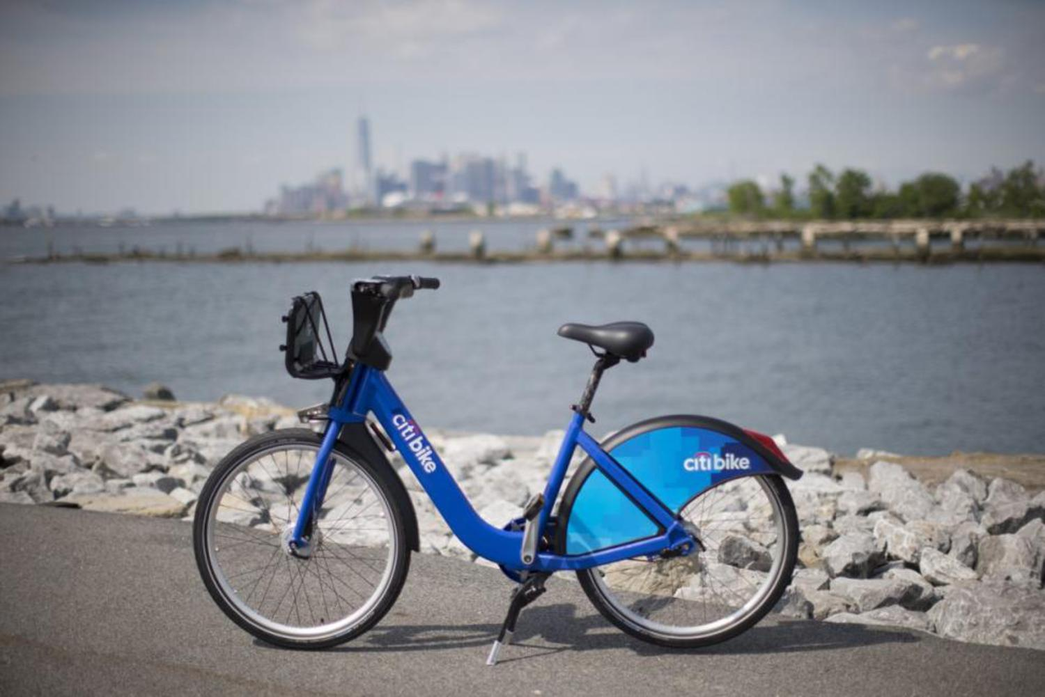 One thousand of the new bikes — which are still bright blue and plastered with the Citi logo — will begin hitting the streets in a week, officials said.