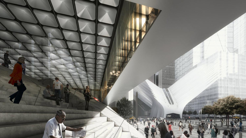Design for the Ronald O. Perelman Performing Arts Center