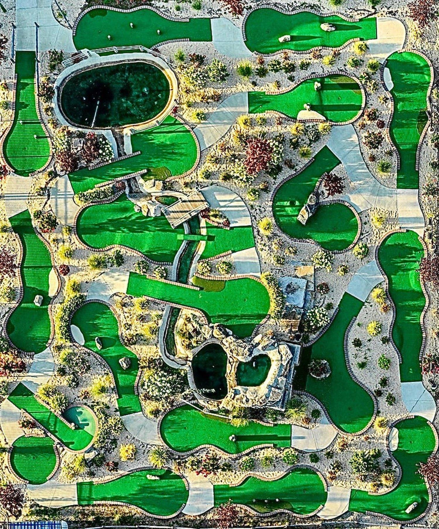 Luna Park Mini Golf, Coney Island, Brooklyn