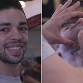 How this barber with Tourette's overcomes twitches to live his dream