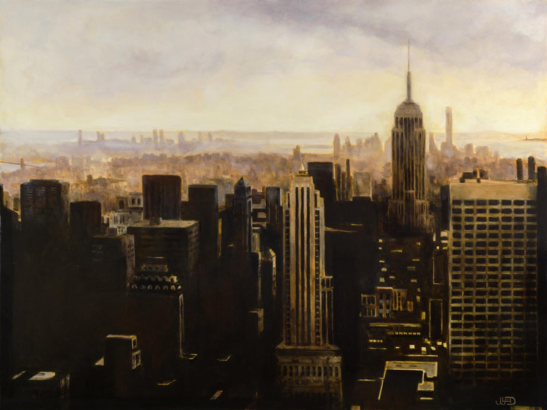 """NYC - 36"""" x 48 """""""