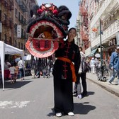 Roaring With the Lion Dancers of New York's Chinatown