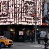 """Ren Zhi Chu"" at Times Square"