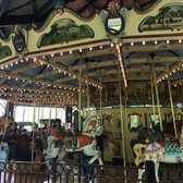 Carousel for All Children: Animals come to life before children's eyes on Staten Island