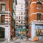 SoHo, New York. Photo via @doubleshockpower #viewingnyc #newyork #newyorkcity #nyc #rain