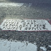Toynbee Tile in Midtown Manhattan
