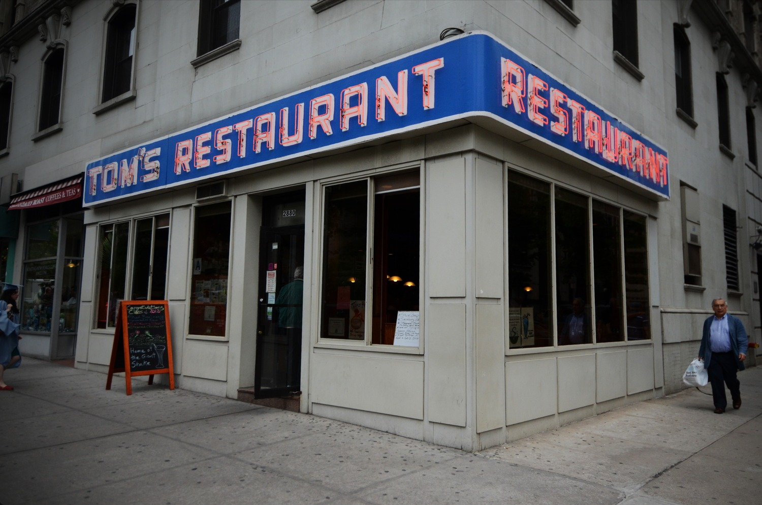 Tom's Restaurant | Seen in just about every episode of Seinfeld.