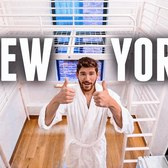 Living in New York City's SMALLEST Apartment for 24 Hours | 60 ft.² Micro Studio