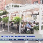Outdoor dining extended for another year