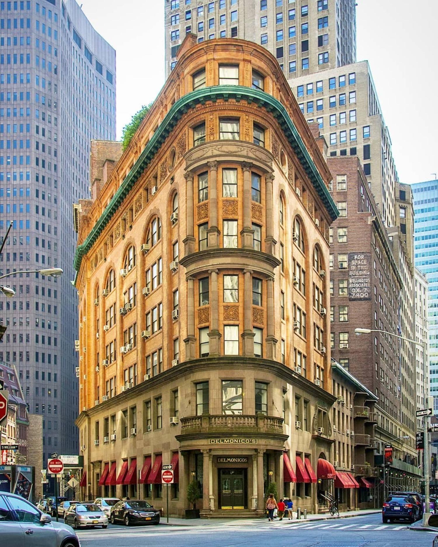Delmonico's Restaurant, Financial District, Manhattan