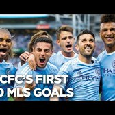 GOALS | NYCFC's First 100 MLS Goals