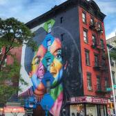 Michael Jackson mural on 1st and 11th in East Village, KOBRA, 2018
