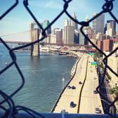 Lower Manhattan as seen from Manhattan Bridge