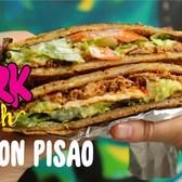 Patacon Pisao's Deep Fried Plantain Sandwich || Fork Yeah