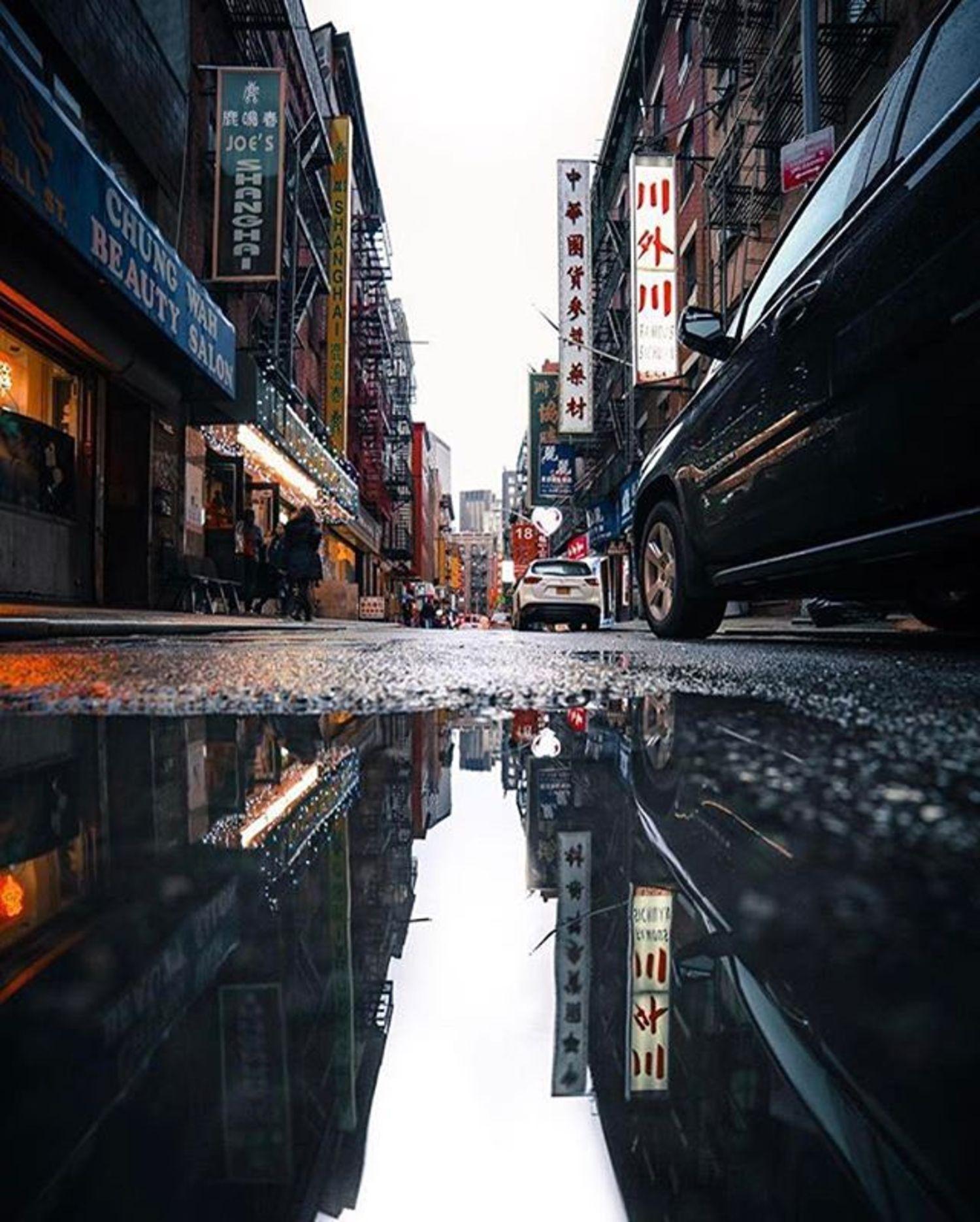 Photo via @raylivez  Pell Street, Chinatown  #viewingnyc