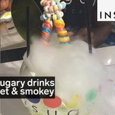 These sugary drinks are sweet and smokey
