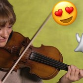 Translating emojis into music with violinist Nicola Benedetti