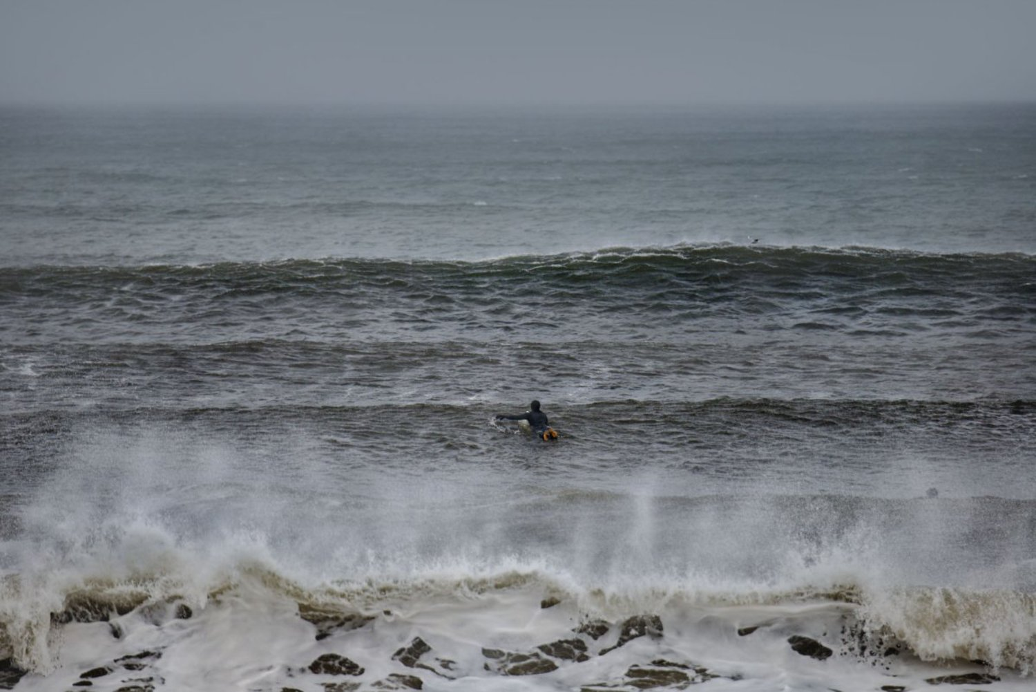 For her book, Waters interviewed 13 surfers about what it's like to surf in New York.