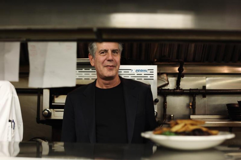 Anthony Bourdain in the Kitchen