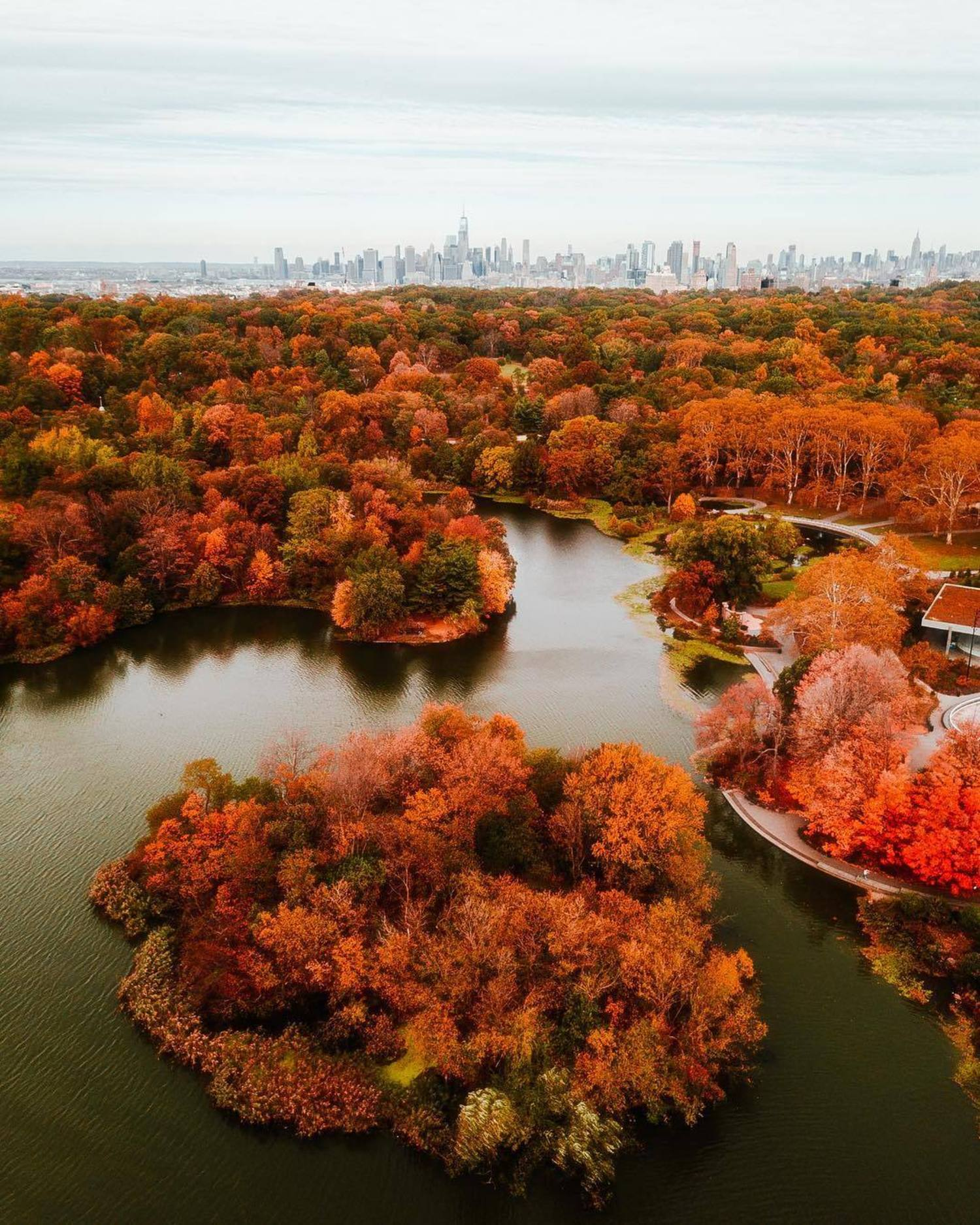 """As the foliage begins to peak in New York, it feels like a whole new city."""