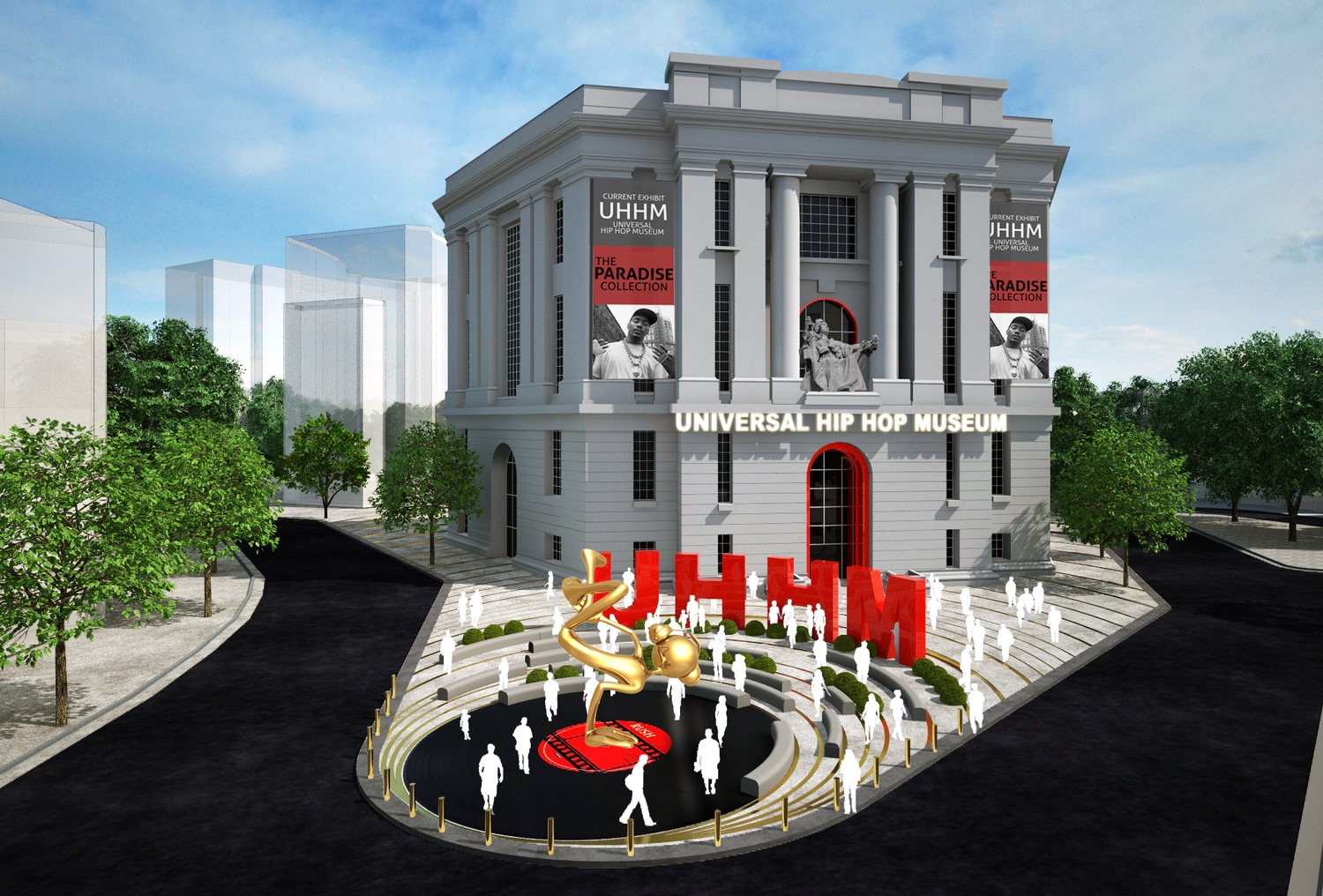Old Bronx County Courthouse Scouted as Site For a Hip-Hop Museum
