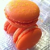 Cheetos Macarons @ Macaron Parlour