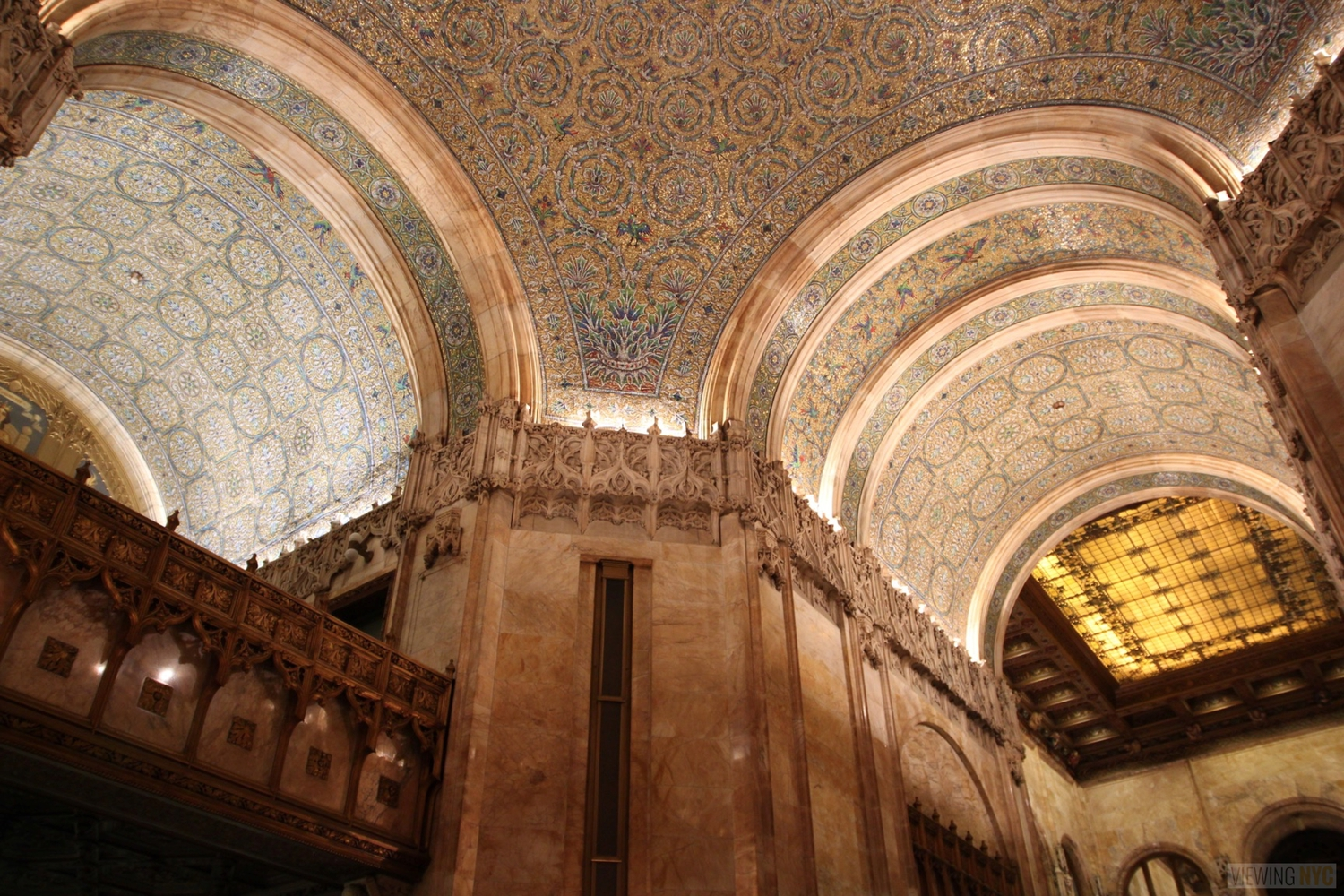 Woolworth Building Lobby and Basement Tour 99