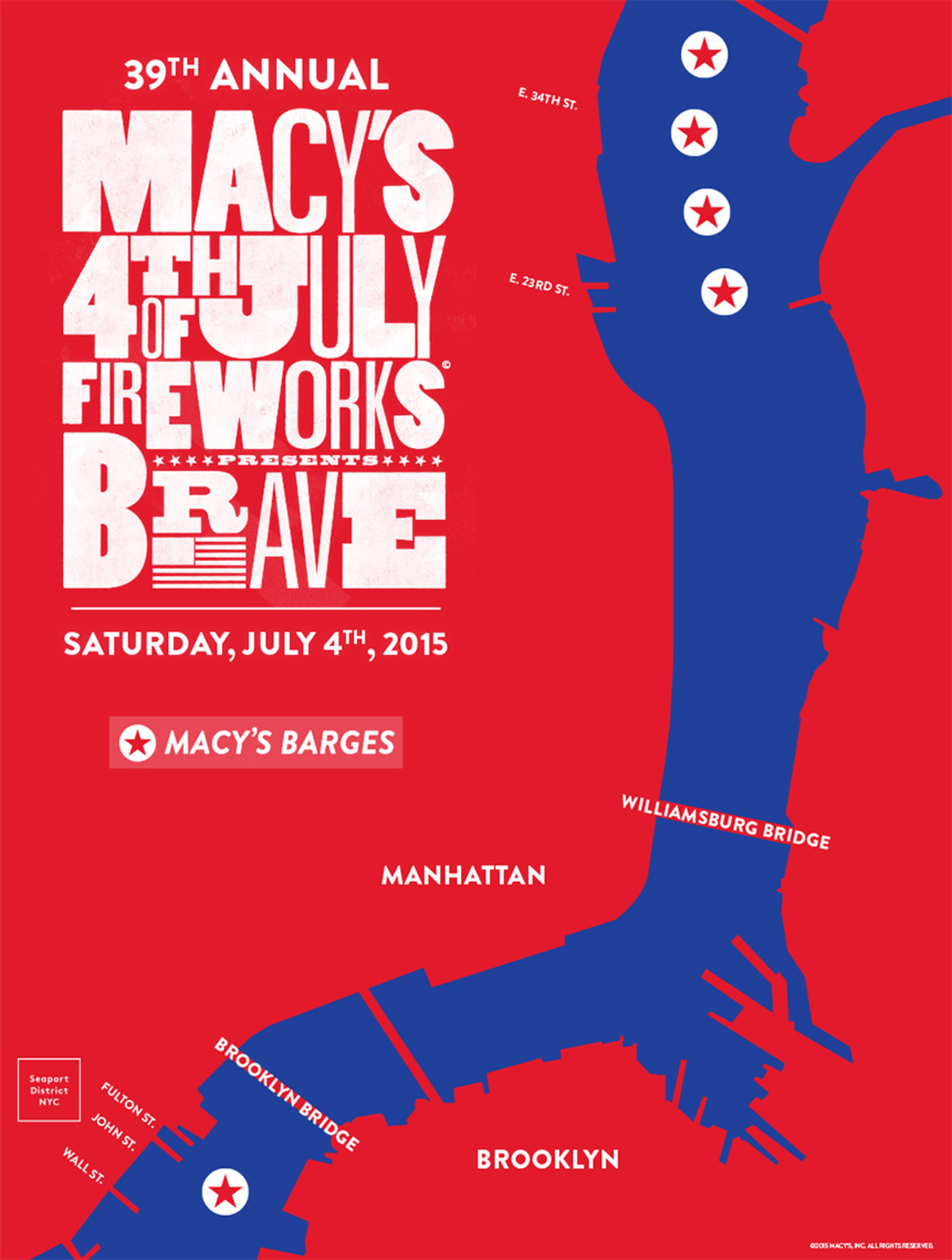 39th Annual Macy's 4th of July Fireworks