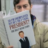 Taking Fake Books on Subway: UNPRESIDENTED EDITION
