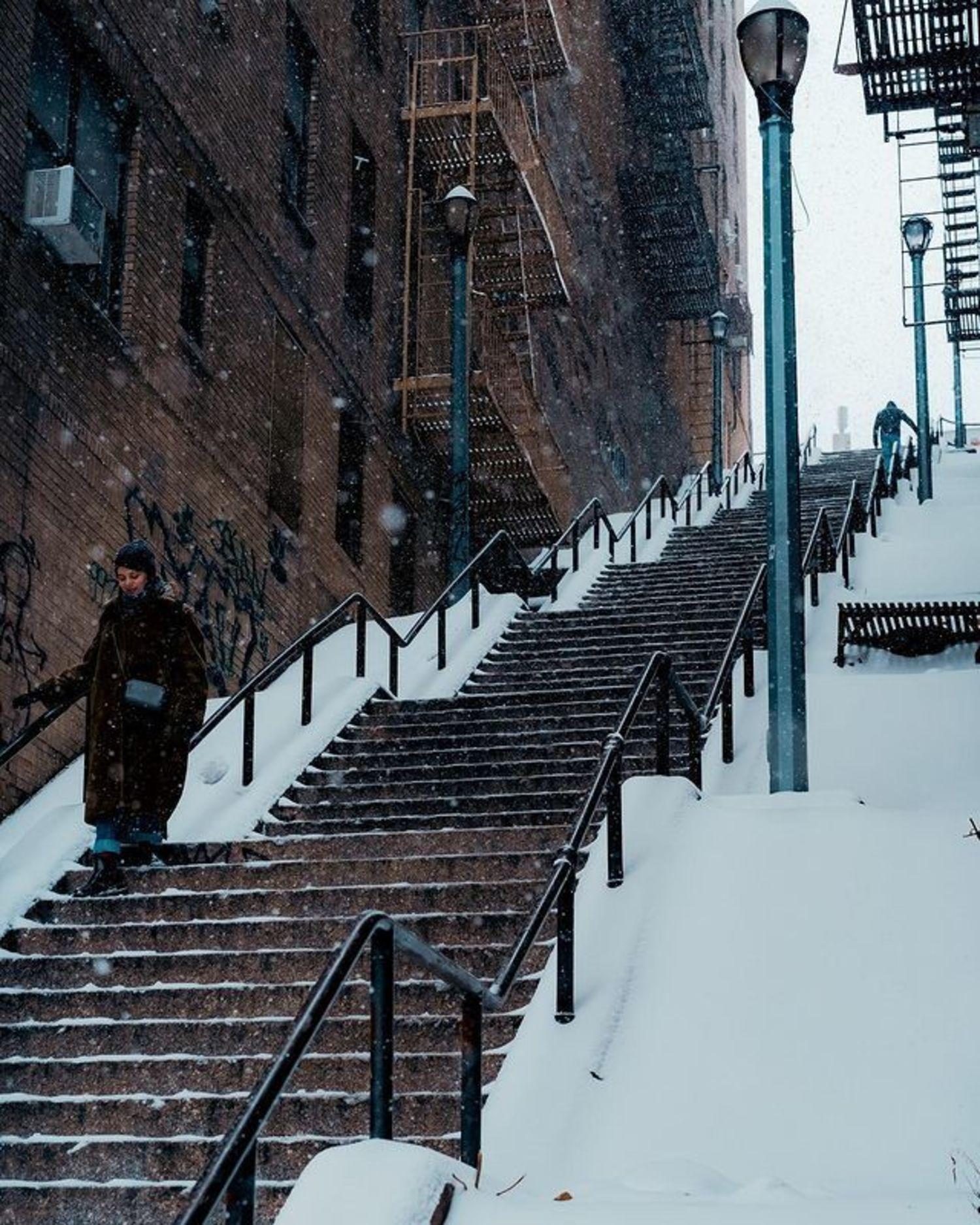 Joker Stairs, Highbridge, Bronx
