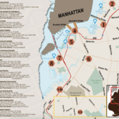 Brooklyn Chocolate Trail Map