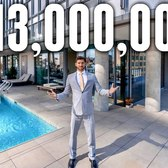 INSIDE a $13 Million NYC Apartment with Private Rooftop Pool