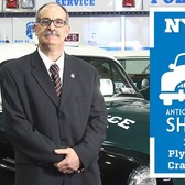 VINTAGE NYPD 1951 PLYMOUTH CRANBROOK PATROL CAR