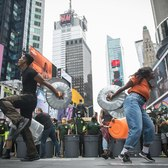 Celebrating The City Cleanup Corps with STOMP