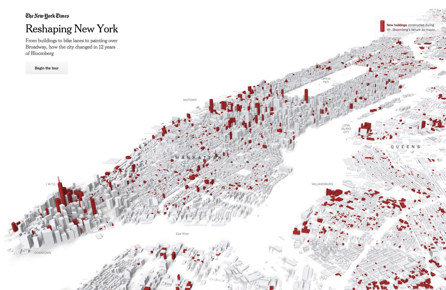 Reshaping New York, New York Times, 2015