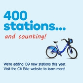 400 stations... and counting!