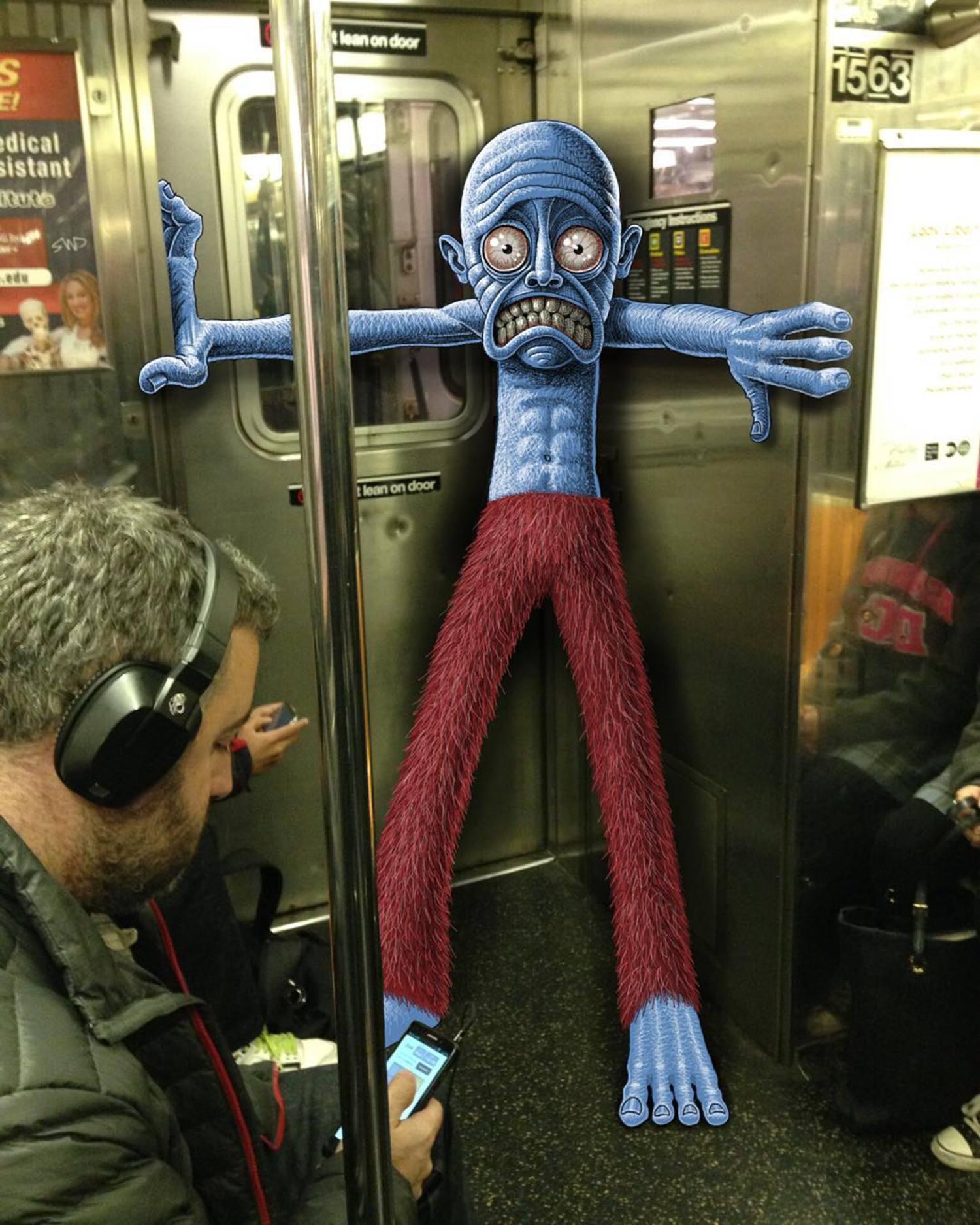 #subwaydoodle #subway #doodle #swd #morningcommute #nyc