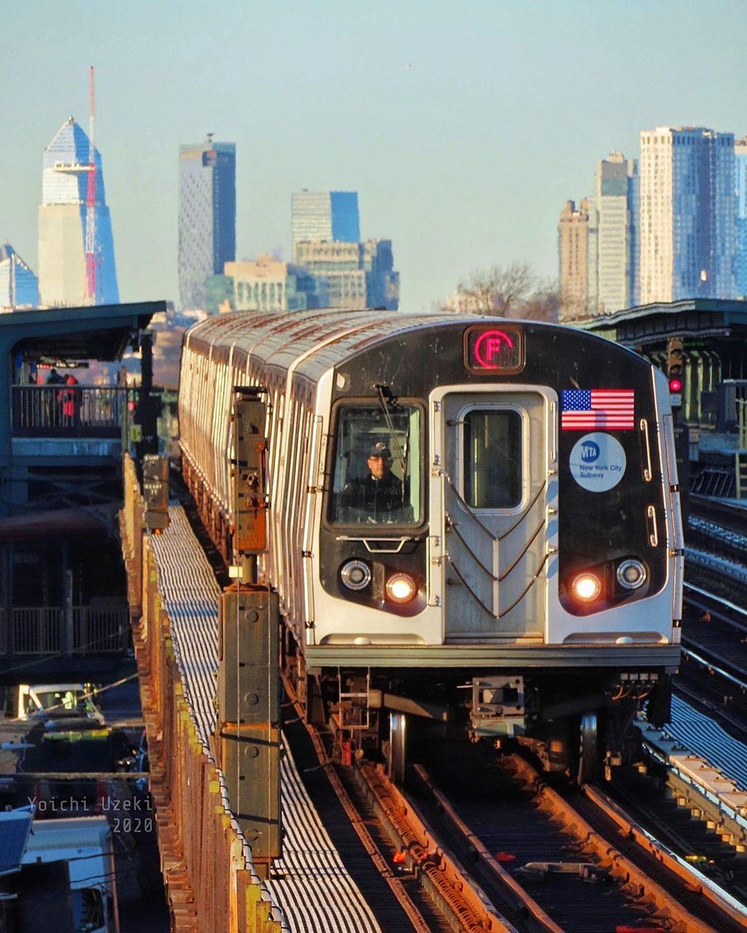 F Train, Gowanus, Brooklyn