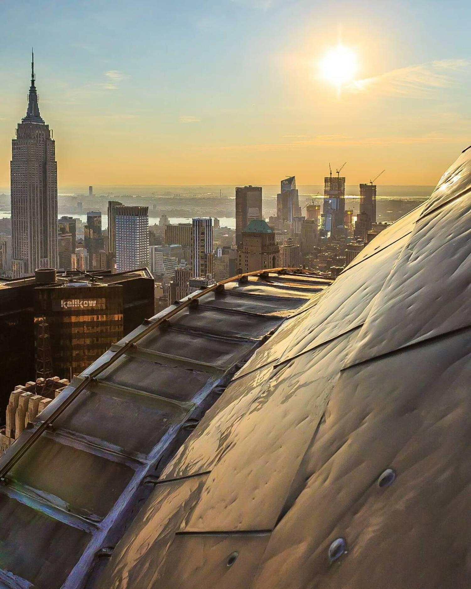 Midtown Manhattan as seen from Chrysler Building