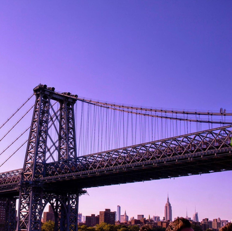 Williamsburg Bridge, East River, New York