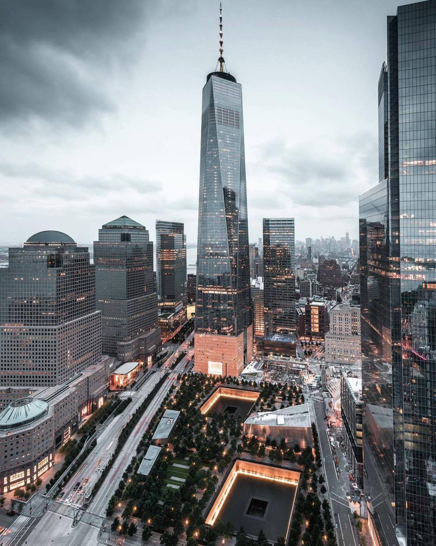 One World Trade Center, New York, New York. Photo via @killianmoore #viewingnyc #nyc #newyork #newyorkcity